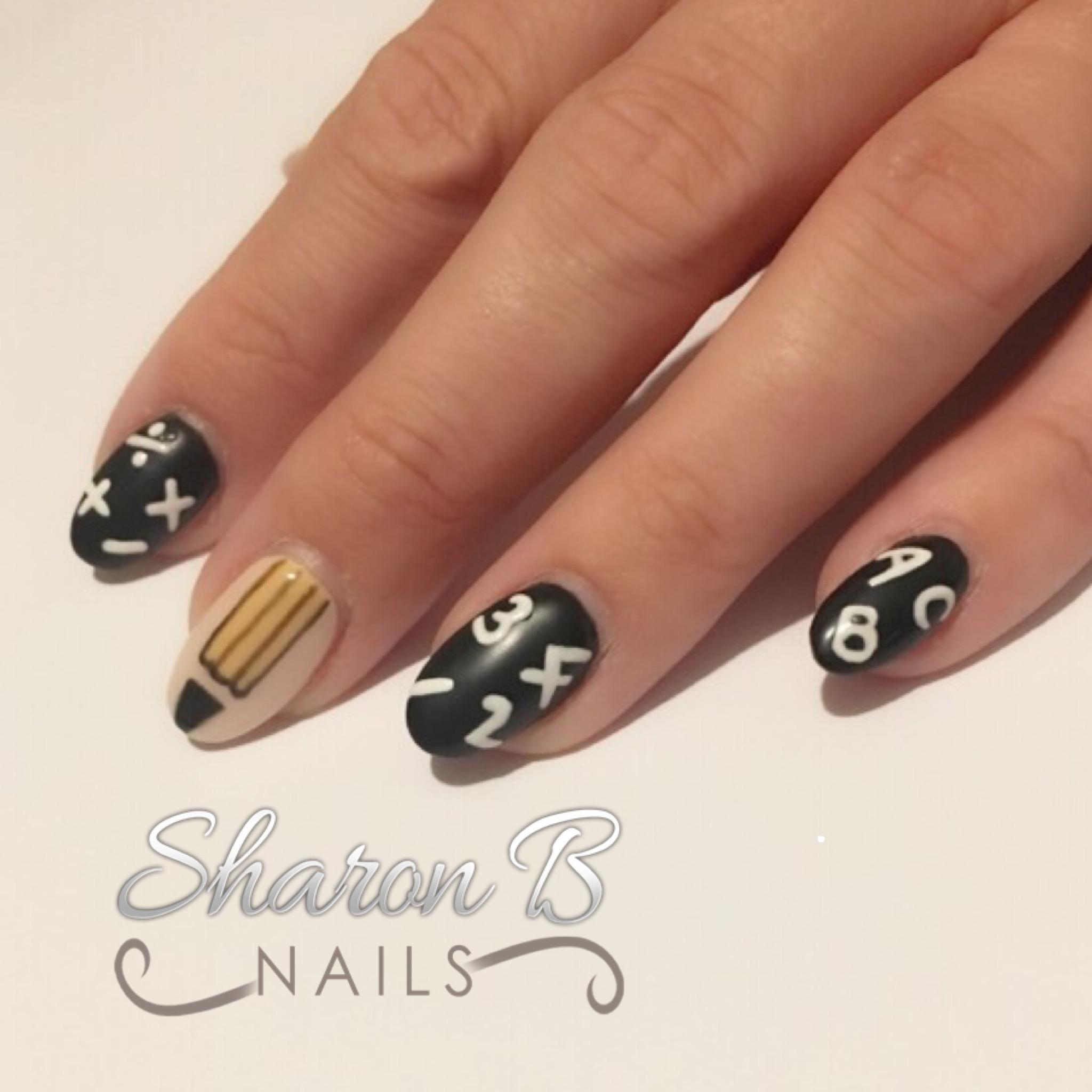 Sharon B Nails – Back To School Nails